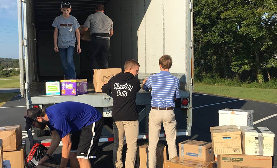 Shepherds Hill Academy Partners for Hurricane Relief