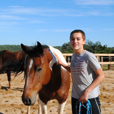 Choosing Your Horse During SHA EAP Equine Therapy